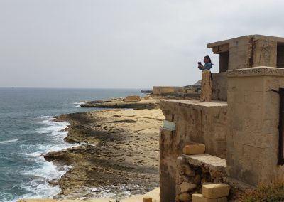 Exploring Malta with friends, the South East Coast