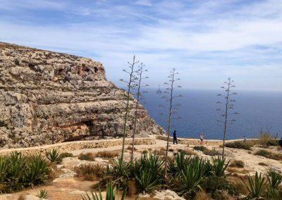 panorama view-blue-grotto