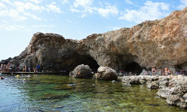 "Ghar Lapsi, the ""Ascension Cave"" along the South West Coast"