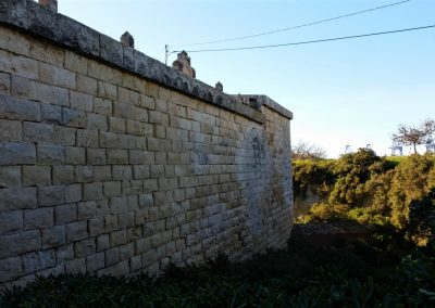 fort saint lucian's ditch marsaxlokk