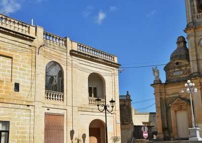 Zurrieq the Parish Church dedicated to St Catherine of Alexandria
