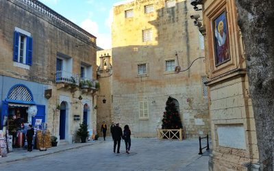 Mdina under the Christmas Atmosphere