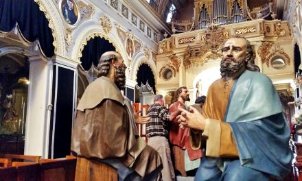 Behind the Scenes of Qormi's Holy Procession
