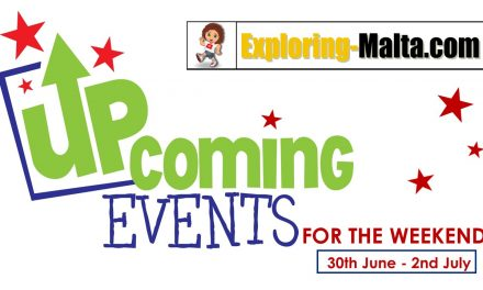 Upcoming Events for this weekend in Malta, 30-2nd July