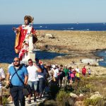 St Publius in procession to St Paul's Bay Islands