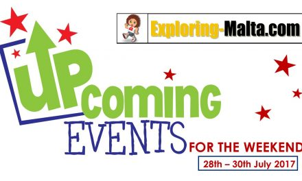 Upcomings Events for this weekend in Malta, 28-30th July