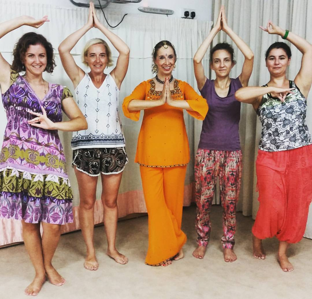 indian dance workshop with madhavi