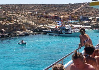 sea adventure comino blue lagoon