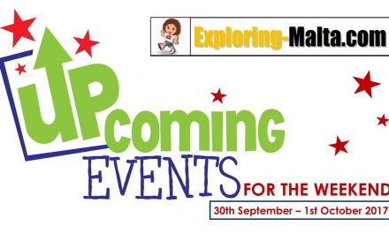 Upcoming Events for this Weekend in Malta, 29th September to 1st October
