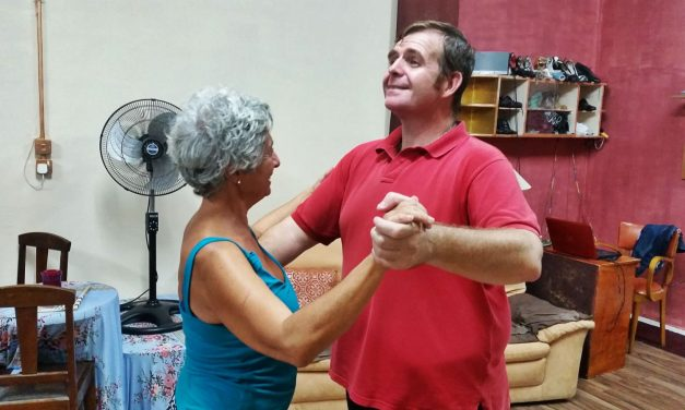 Can a boxer become a tanguero? Tango in Malta, anything can happen