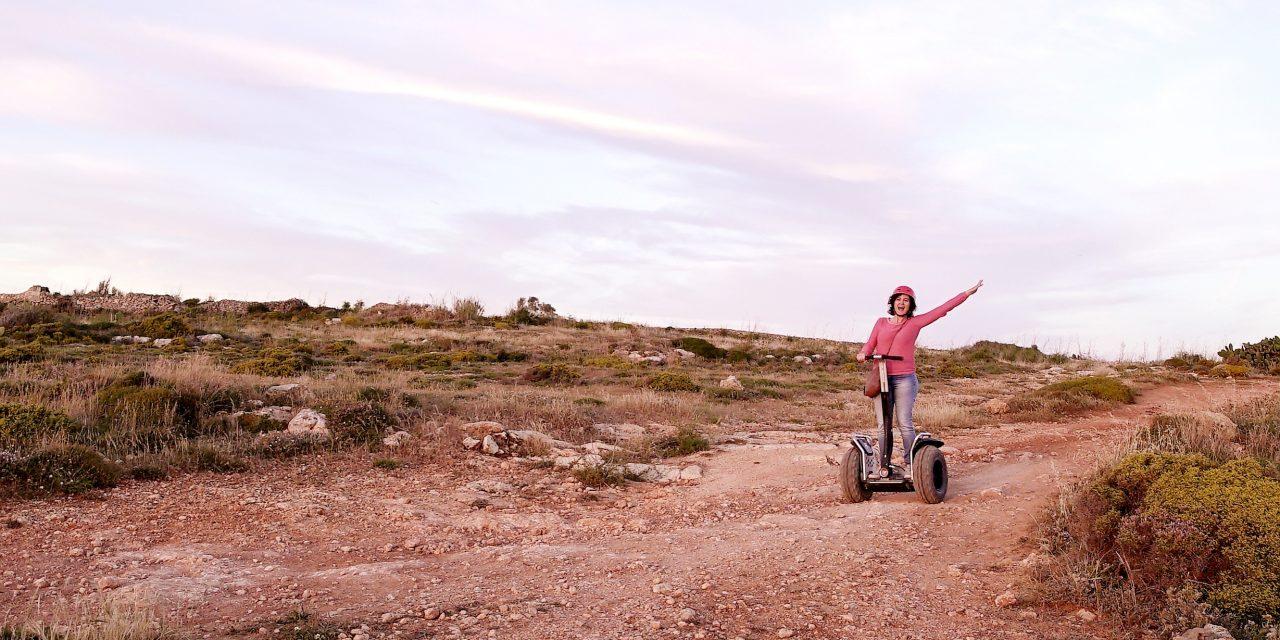 Golden Sands Rally on Segway Malta, amazingly adventurous!