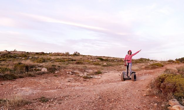 Golden Sands Rally on Segway Malta, amazingly adventurous!
